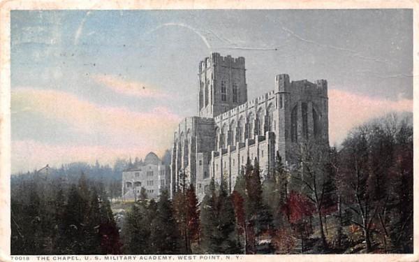 Chapel West Point, New York Postcard