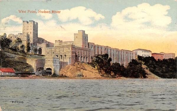 Hudson River West Point, New York Postcard