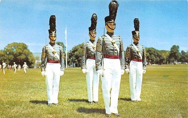 Honor Guard of Cadets West Point, New York Postcard
