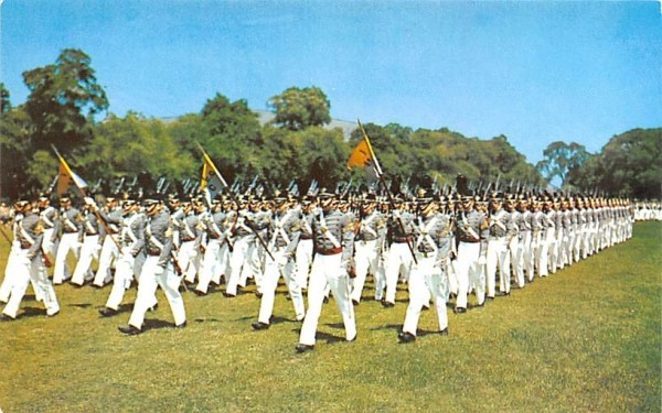 Corps on the Parade West Point, New York Postcard