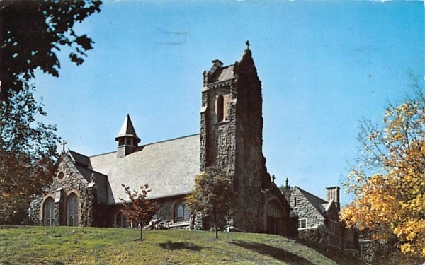 Catholic Chapel West Point, New York Postcard
