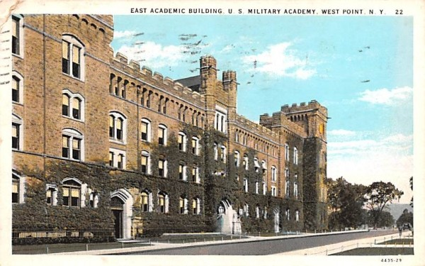 East Academic Building West Point, New York Postcard