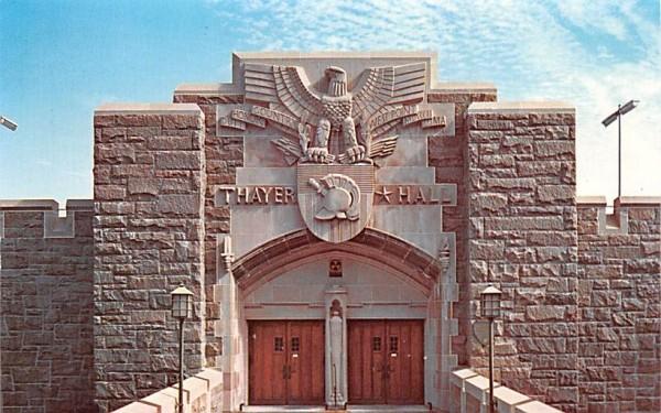 Thayer Hall West Point, New York Postcard