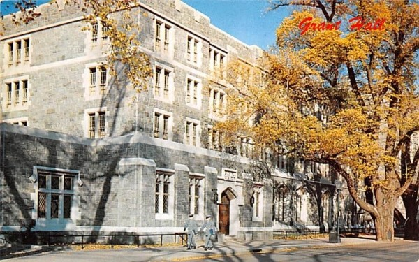 Grant Hall West Point, New York Postcard