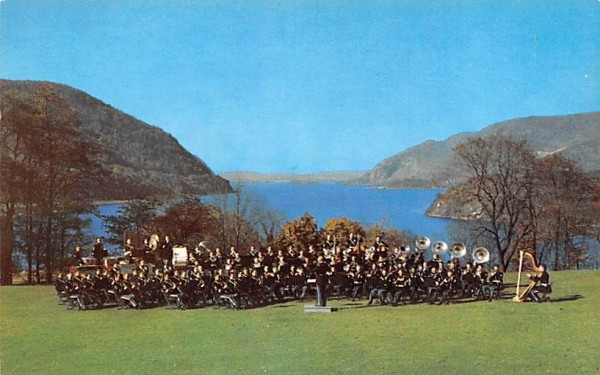 US Military Academy Band West Point, New York Postcard