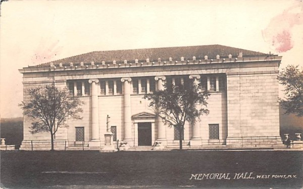 Memorial Hall West Point, New York Postcard