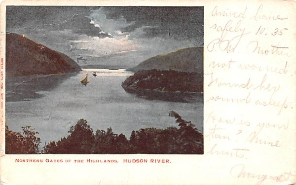 Northern Gates of the Highlands West Point, New York Postcard