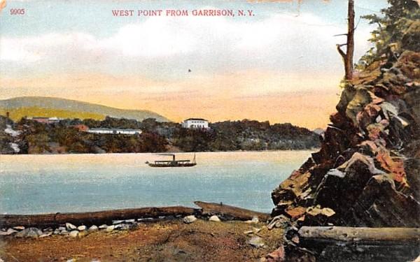From Garrison West Point, New York Postcard