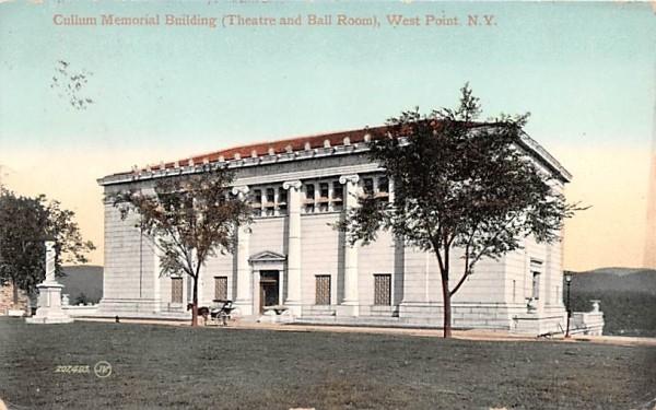 Cullum Memorial Building West Point, New York Postcard