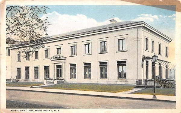 Officers Club West Point, New York Postcard