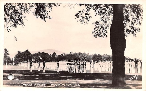 Dress Parade West Point, New York Postcard