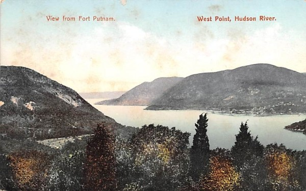 From Fort Putnam West Point, New York Postcard