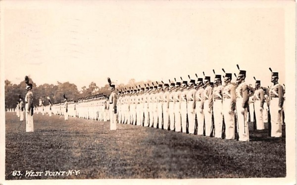 Cadets West Point, New York Postcard