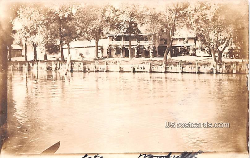 Lake View - Woodville, New York NY Postcard