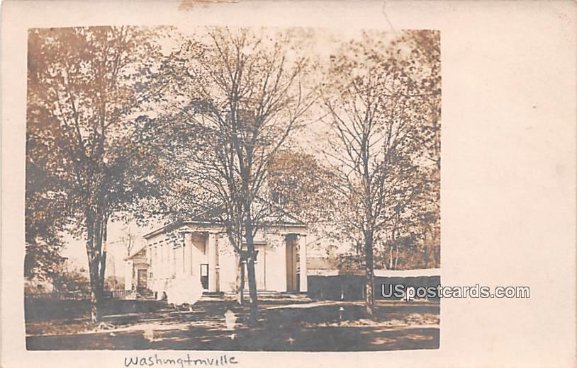 Building amongst the Trees - Washingtonville, New York NY Postcard