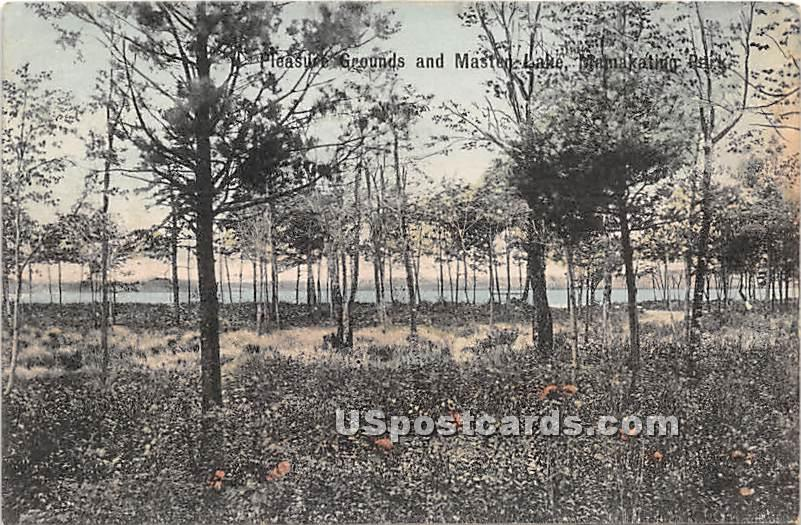 Pleasure Grounds - Wurtsboro, New York NY Postcard