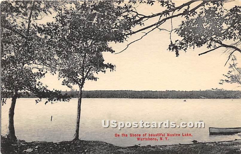 On the Shore - Wurtsboro, New York NY Postcard