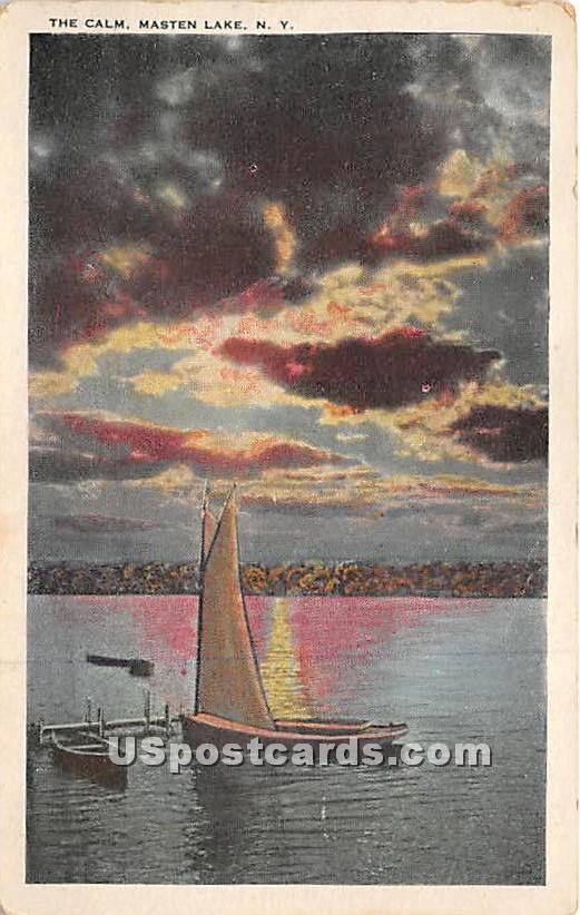 The Calm - Wurtsboro, New York NY Postcard