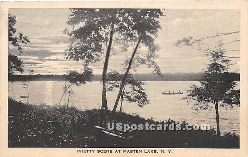 Pretty Scene - Wurtsboro, New York NY Postcard
