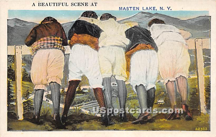 Beautiful Scene - Wurtsboro, New York NY Postcard