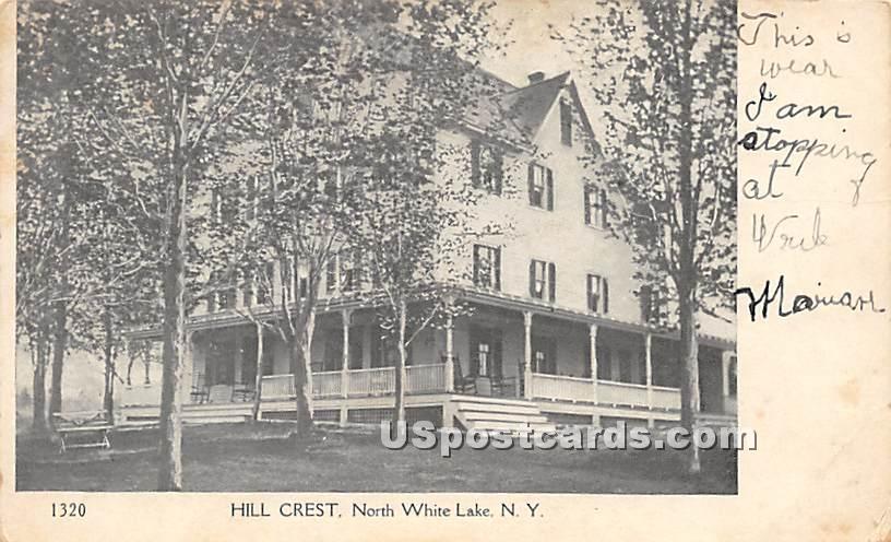 Hill Crest - White Lake, New York NY Postcard
