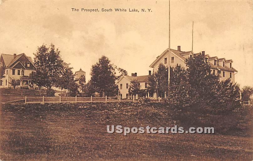 The Prospect - White Lake, New York NY Postcard