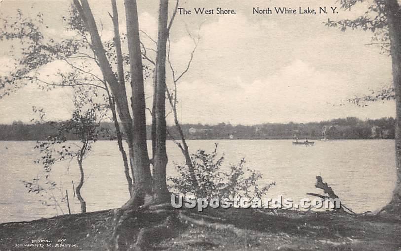 The West Shore - White Lake, New York NY Postcard