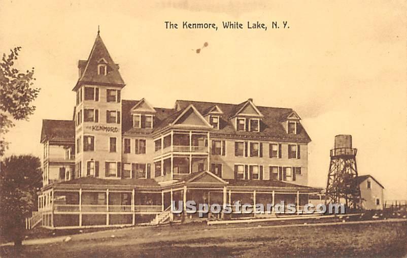 The Kenmore - White Lake, New York NY Postcard