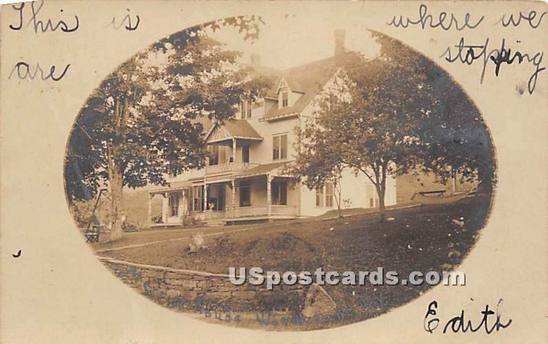 Merritt House - Woodbourne, New York NY Postcard