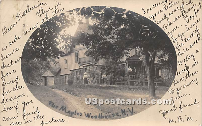 The Maples - Woodbourne, New York NY Postcard