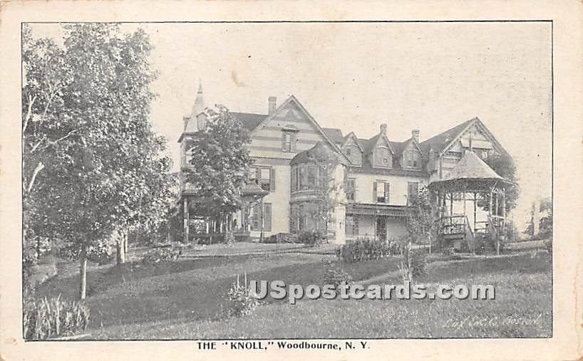 The Knoll - Woodbourne, New York NY Postcard