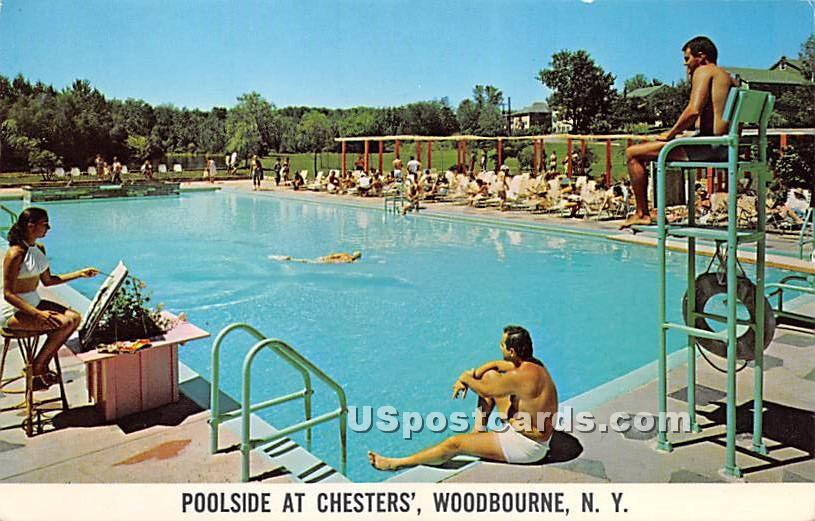 Chesters' - Woodbourne, New York NY Postcard