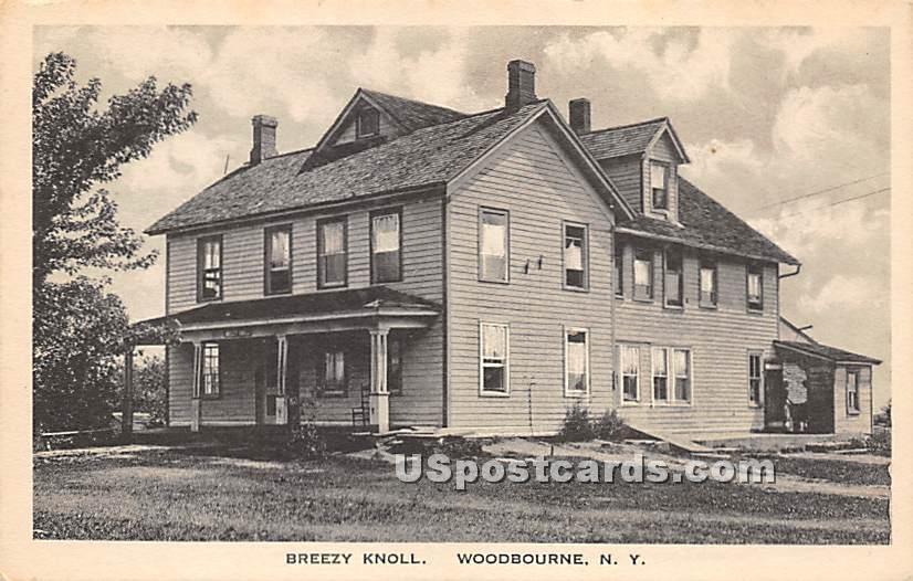 Breezy Knoll - Woodbourne, New York NY Postcard