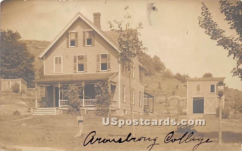 Armstrong Cottage - Woodbourne, New York NY Postcard