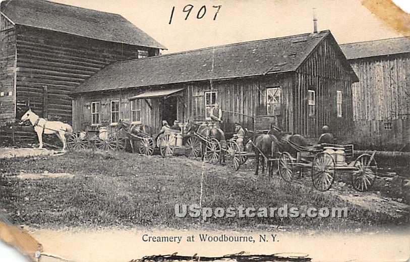 Creamery - Woodbourne, New York NY Postcard