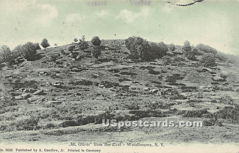 Mt Oliver - Woodbourne, New York NY Postcard