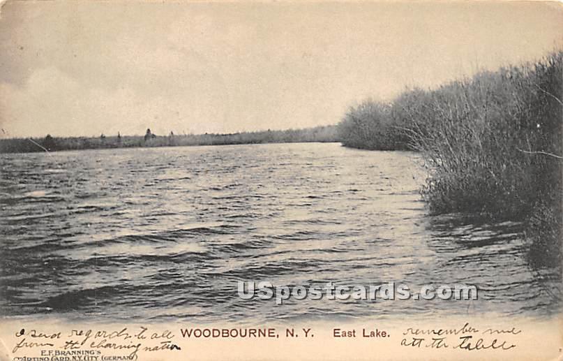 East Lake - Woodbourne, New York NY Postcard