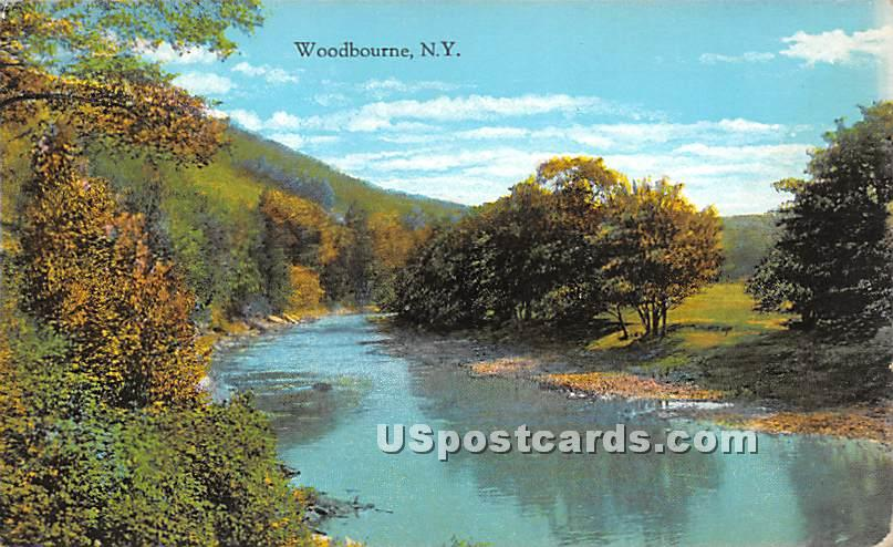 Water View - Woodbourne, New York NY Postcard