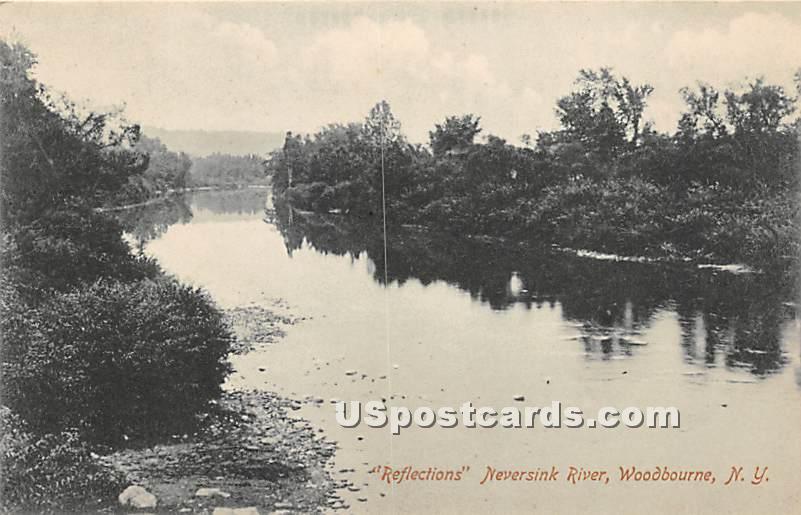 Reflections - Woodbourne, New York NY Postcard
