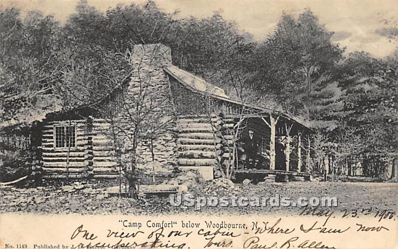 Camp Comfort - Woodbourne, New York NY Postcard