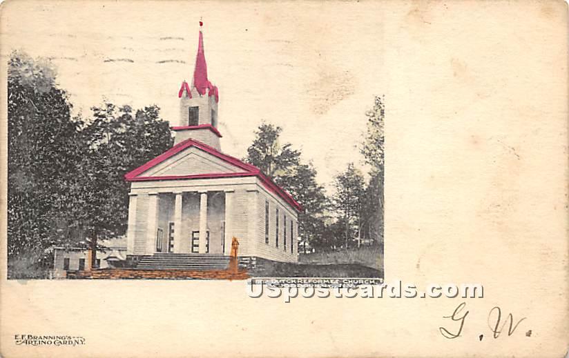 Dutch Reformed Church - Woodbourne, New York NY Postcard