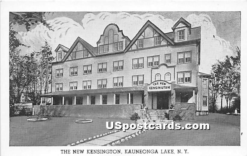 The New Kensington - White Lake, New York NY Postcard