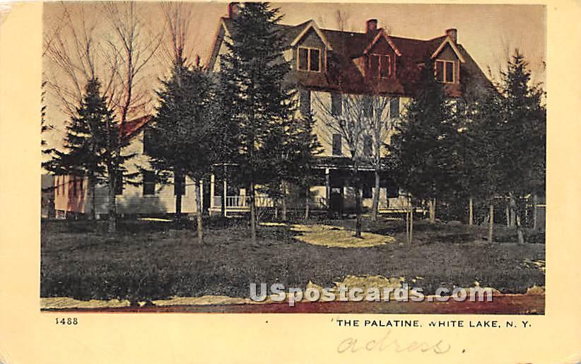 The Palatine - White Lake, New York NY Postcard