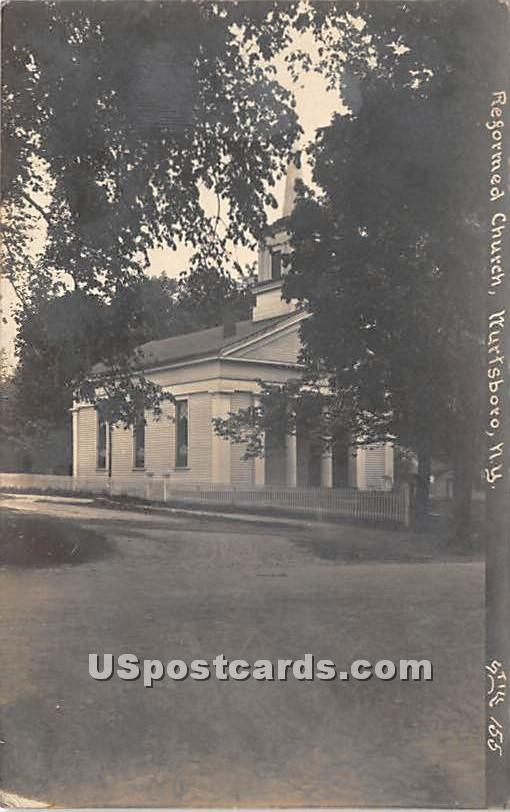 Reformed Church - Wurtsboro, New York NY Postcard