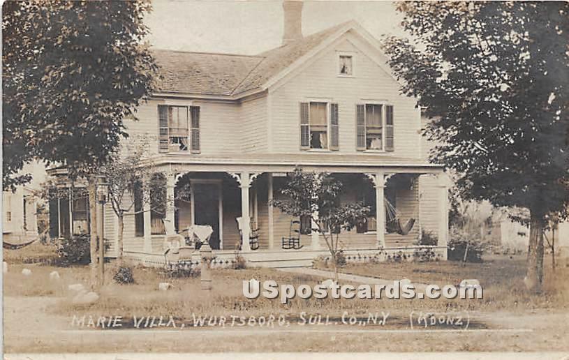Marie Villa - Wurtsboro, New York NY Postcard