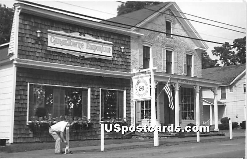 Canal Towne Emporium - Wurtsboro, New York NY Postcard