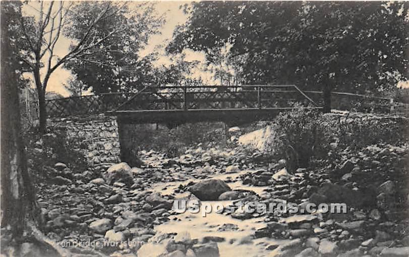 Iron Bridge - Wurtsboro, New York NY Postcard