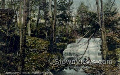 Robinson's Falls - Worcester, New York NY Postcard
