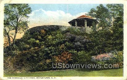 The Pinnacle, City Park  - Watertown, New York NY Postcard