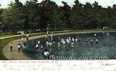 City Park - Watertown, New York NY Postcard